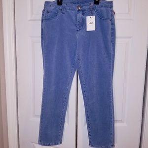 Jag velvet skinny Jean's size 10